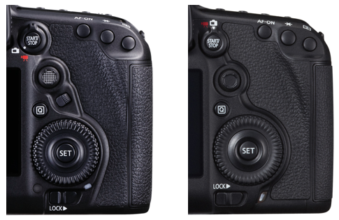 canon 5d mkiv vs mkiii rear controls
